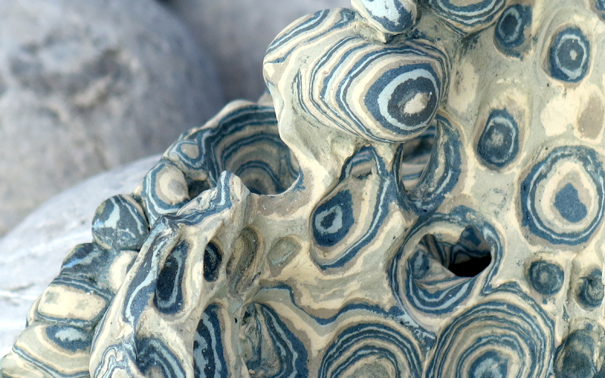 Reflection (detail), 2012, stoneware (26x16x19cms)